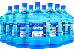 "Вода ""Аква чистая"" 9 бутылей по 19л."