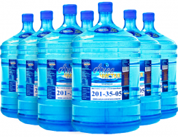 "Вода ""Аква чистая"" 7 бутылей по 19л."