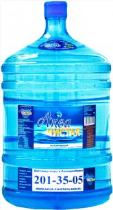 """Вода """"Аква чистая"""" 1 бутыль по 19л."""