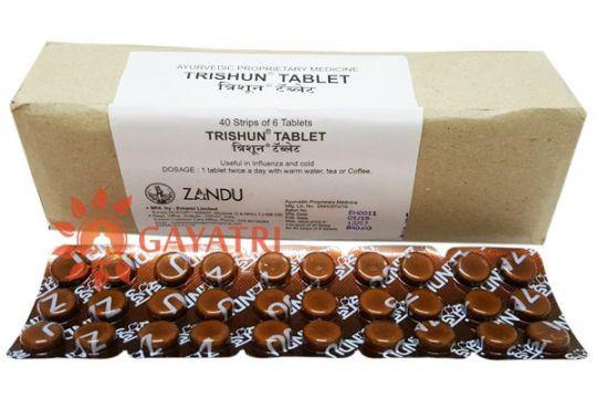 "Препарат ""Тришун"", . Производитель ""Занду"" 30 таблеток./Trishun,  tab/Zandu"