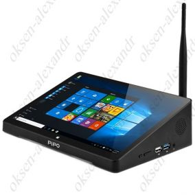 "Мини ПК PIPO X10 pro 10.8"" FullHD Windows 10 Intel Z8300 4GB USB 3.0"