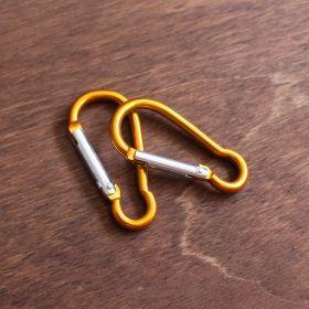 Карабин алюминиевый оранжевый