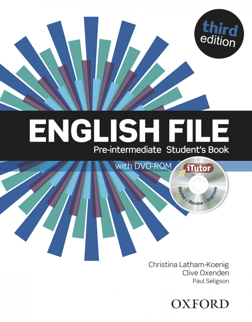 English File 3rd Pre-intermediate Student's Book with iTutor DVD-ROM