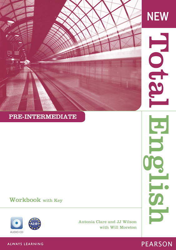 New Total English Pre-Intermediate Workbook with Key and Active Book Class&Workbook MP3 CD