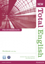 New Total English Pre-Intermediate Workbook with Key