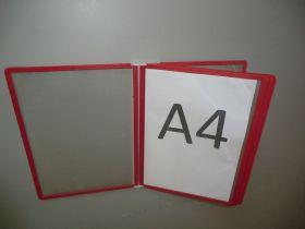 Настенная система, 10 рамок, формат А4