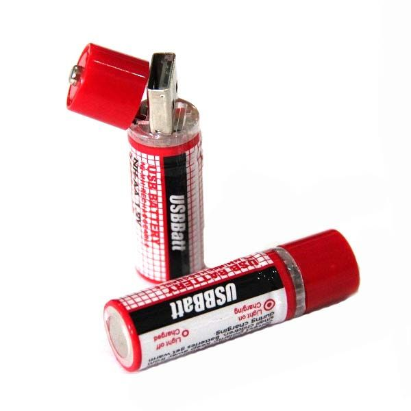 USB батарейки (комплект из 2 шт)