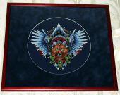 Схема для вышивки крестом Ловец снов - Лис1. Отшив.
