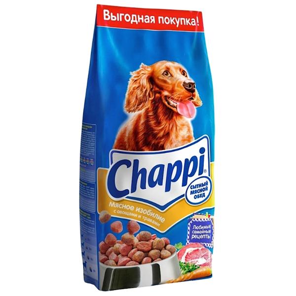 Корм сухой CHAPPI мясное изобилие для взрослых собак всех пород 2.5кг