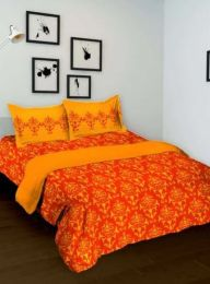 Оранжевый комплект для спальни (Москва)