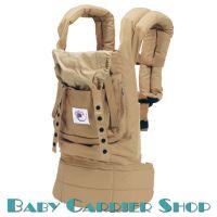 Слинг-рюкзак ERGO BABY CARRIER Эргорюкзак для переноски малышей «Camel Original» [Эрго Беби BC5S слингорюкзак Бежевый/Бежевый]