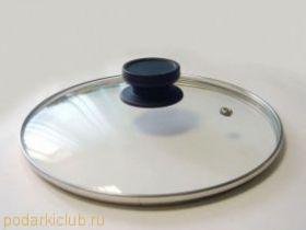 Крышка стекл.в мет.ободе Tim A d 20 см с паровыпуском 4720 (код 149)