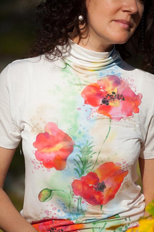 Блузка Теплая Осень