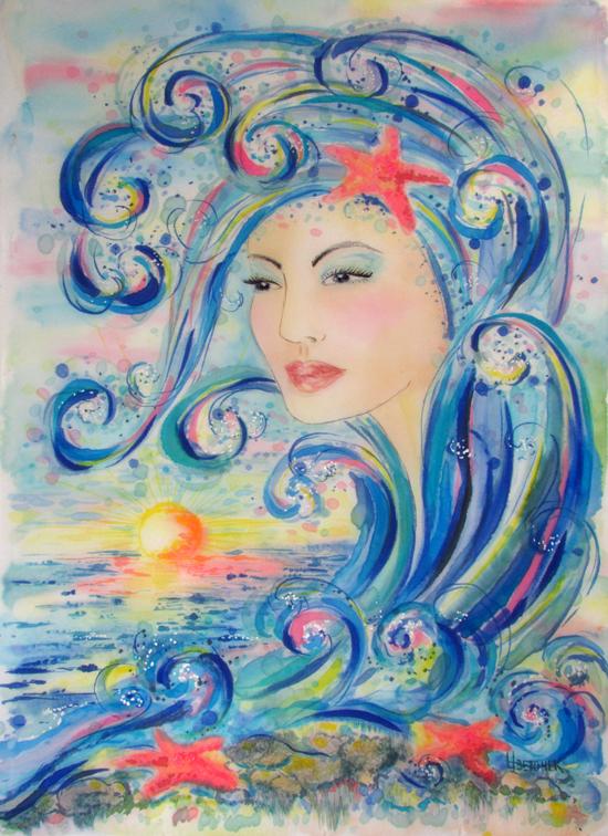 Картина Атлантида