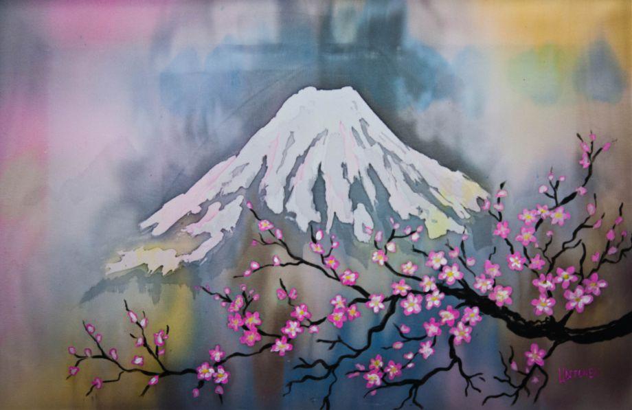Картина Фудзияма