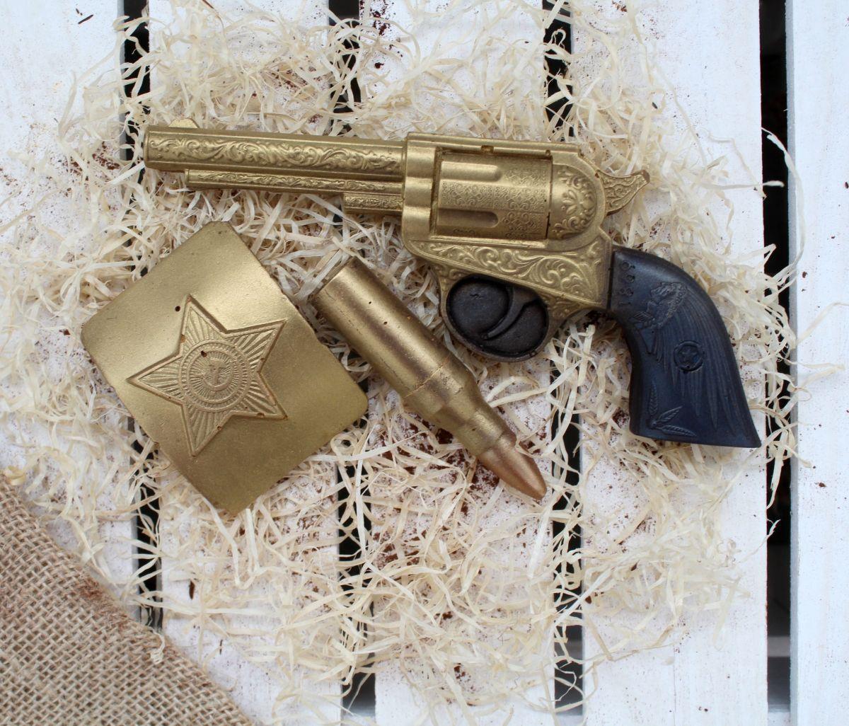 """Набор """"Револьвер с бляхой"""""""