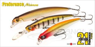 Воблер Pontoon21 PREFERENCE MINNOW 75F-DR, 75 м, А10