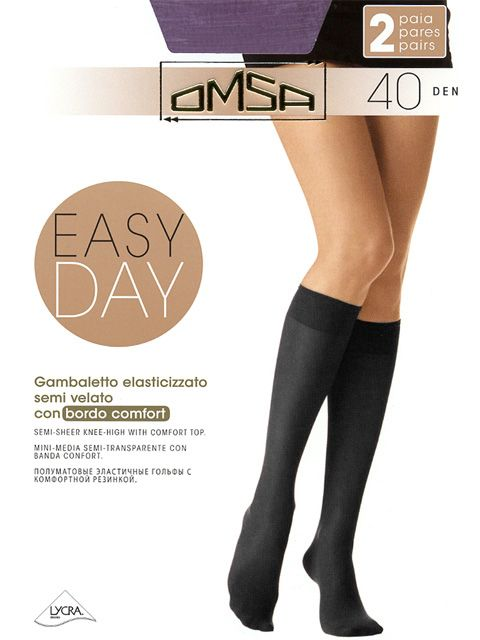 Гольфы EASY DAY 40 (2 п.) Omsa
