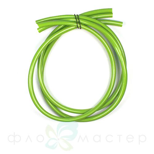 Трубка для утолщения стебля (флористический рукав) светло-зеленая, D=6мм