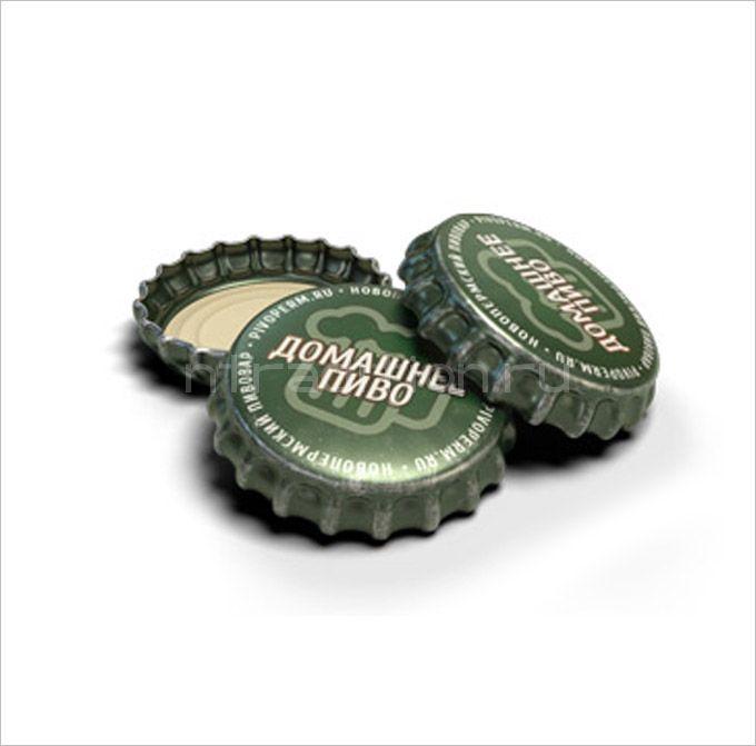 Кроненпробки 6.75 мм, «Домашнее Пиво», 100 шт