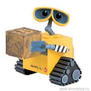 Робот Wall-E с коробкой резиновый