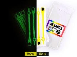 Светящиеся шнурки Желтый/Черный