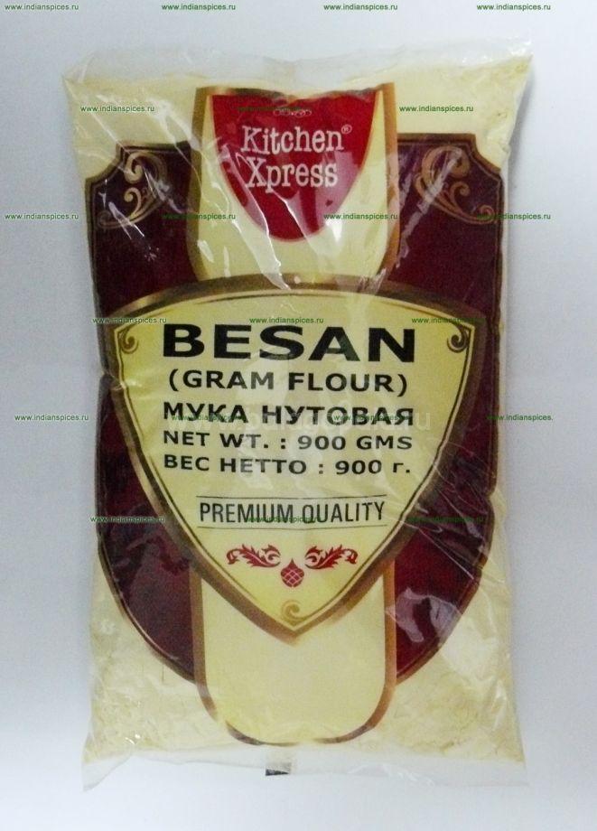 МУКА НУТОВАЯ (BESAN), PREMIUM QUALITY, 900 г.