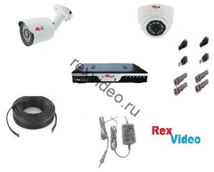 Комплект AHD HD-720p видеонаблюдения на 1 камеру