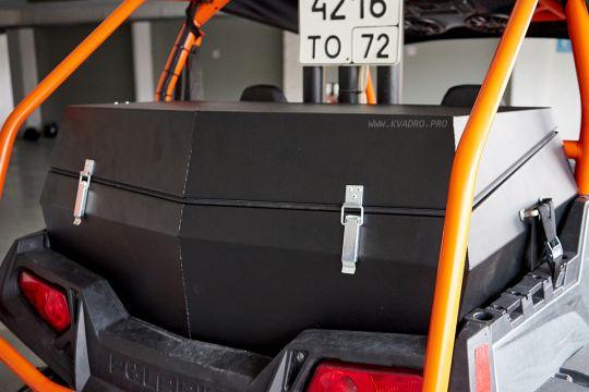 Герметичный жёсткий кофр для POLARIS RZR S 800 (окрашенный снаружи и внутри)