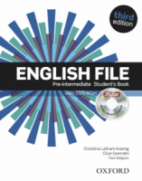 English File 3rd Pre-intermediate Students Book with iTutor DVD-ROM