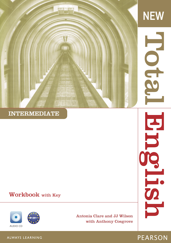 New Total English Intermediate Workbook with Key and Active Book Class&Workbook MP3 CD