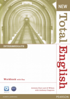New Total English Intermediate Workbook with Key and Audio CD