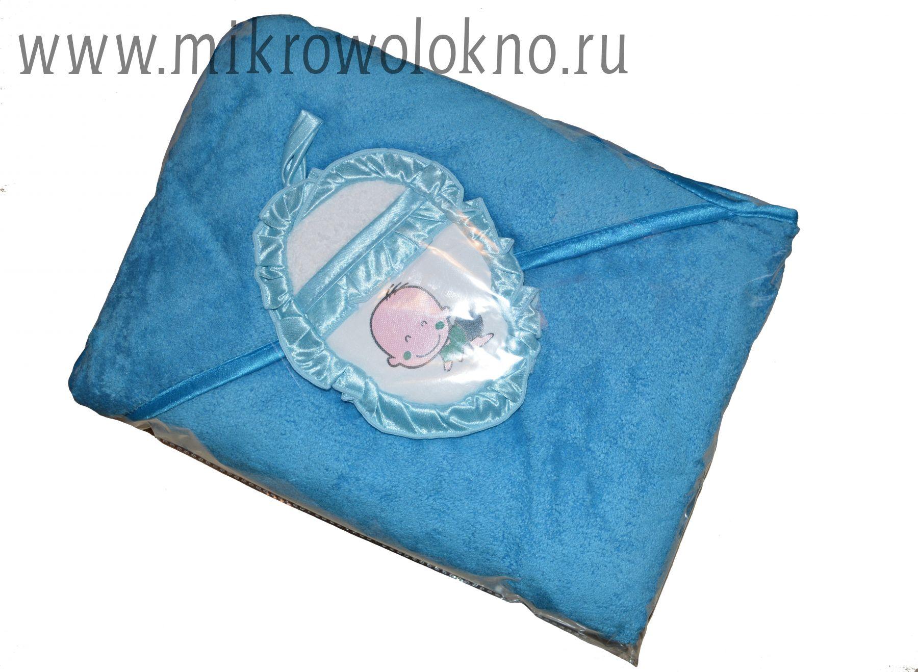 Детский набор: полотенце и варежка-мочалка
