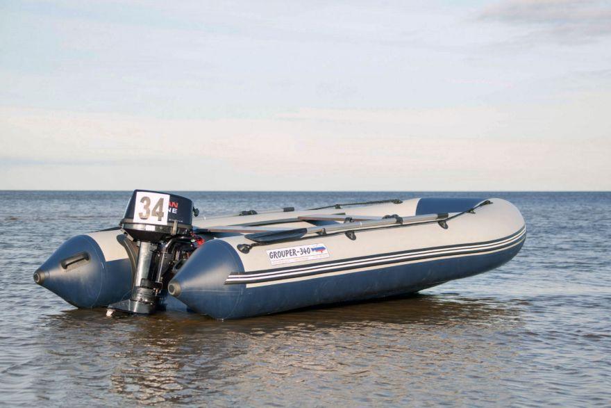 Лодка «Групер» 340