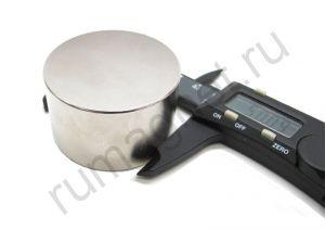 Неодимовый магнит 50 мм