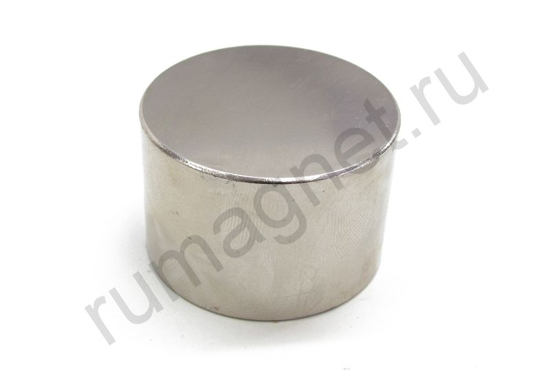 Неодимовый магнит диск 45x30 мм