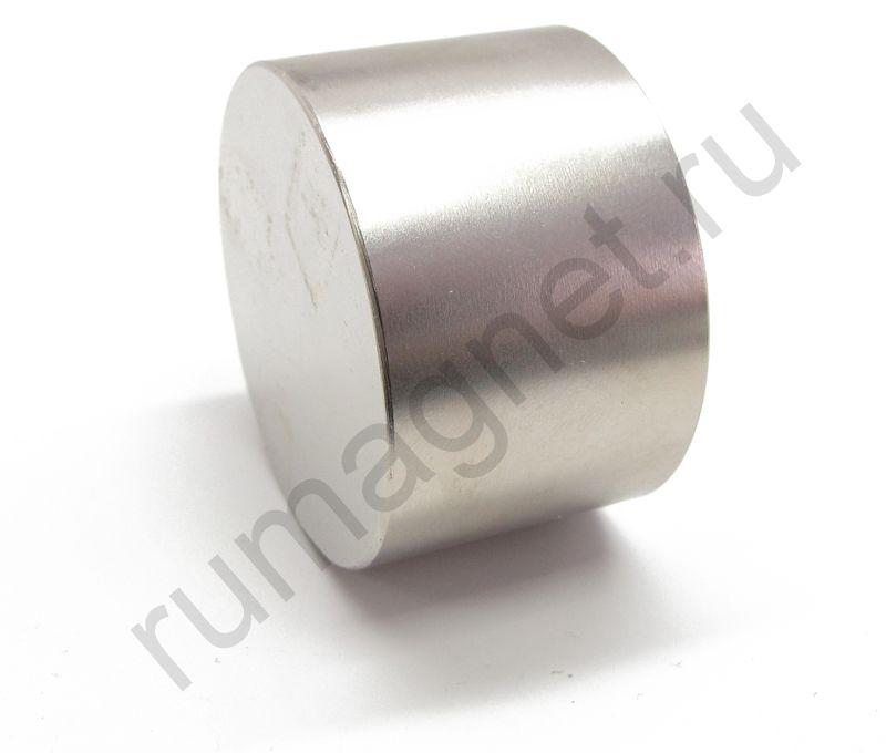 Неодимовый магнит диск 55x35 мм