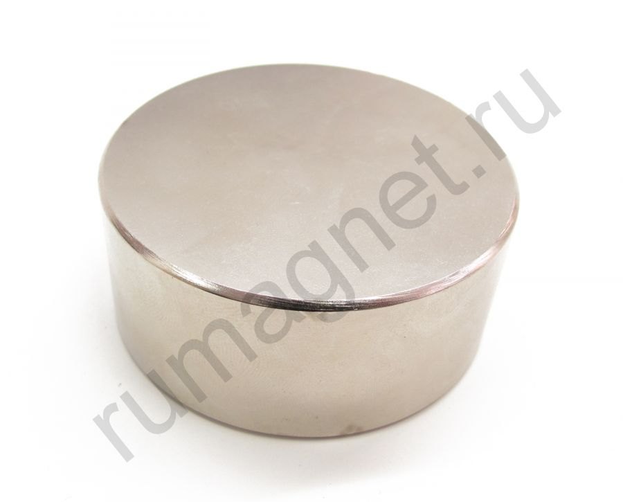 Неодимовый магнит диск 70x30 мм