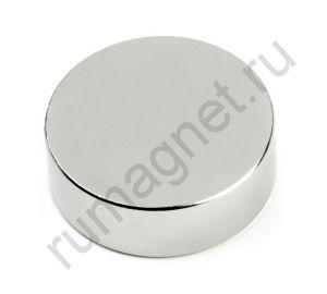 Неодимовый магнит D30xh10 мм