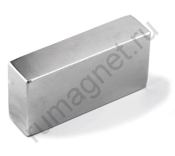 Неодимовый магнит прямоугольник 60x40х40 мм