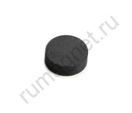 Магнит ферритовый, диск 15*4 мм