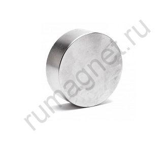 Неодимовый магнит диск 45x15 мм