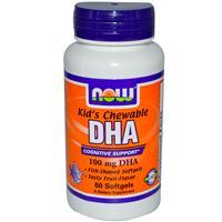 Докозагексаеновая кислота. (DHA для детей) 100мг 60  капсул лингв.