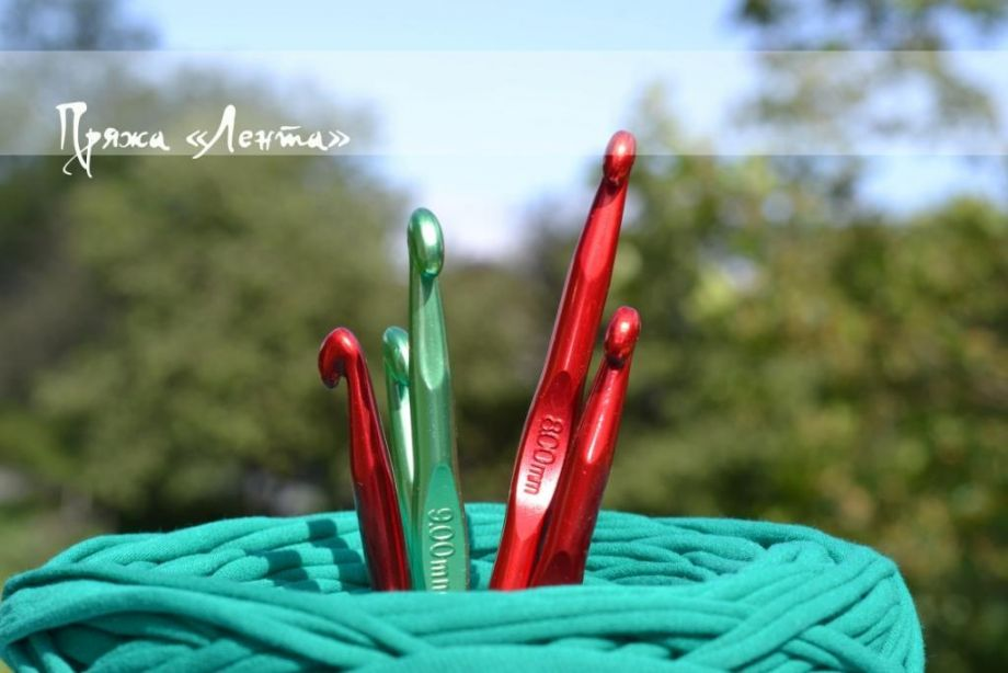 Крючок для вязания. Металл