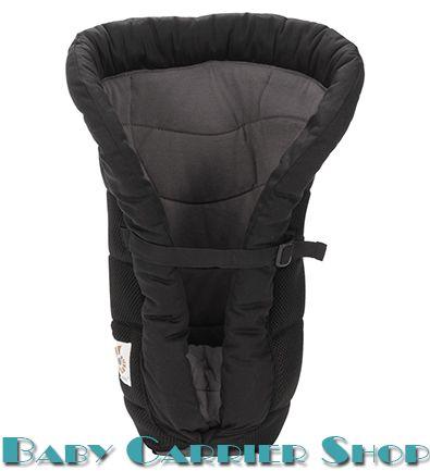 Поддерживающая вставка для новорожденного в слинг-рюкзак ERGO BABY «INFANT INSERT Heart2Heart PERFORMANCE Black» [Эрго Беби IIP00138NL черный]