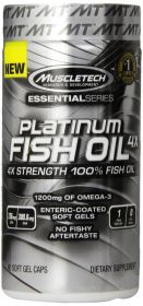 MuscleTech Platinum 100% Fish Oil 100 капсул (Омега-3)