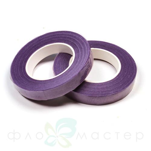 Тейп лента 12мм (флористическая). Фиолетовый