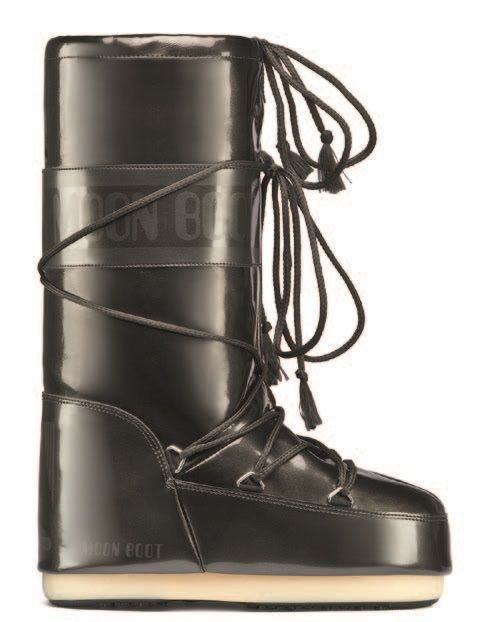 Moon Boot Vinyl MET Black (тёмно-серые) / 35-38, 39-41, 42-44.