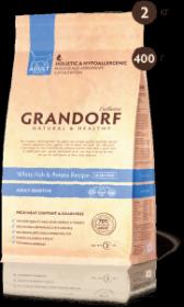 Grandorf White Fish & Potato Белая рыба c бататом беззерновой д/кошек