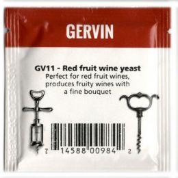 Винные дрожжи Gervin GV11 Red Fruit Wine NEW
